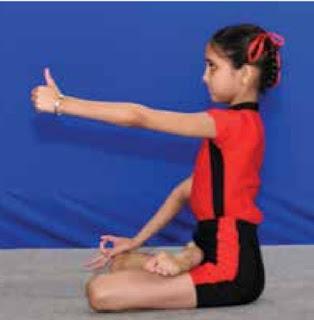 Trataka Yoga for eye.