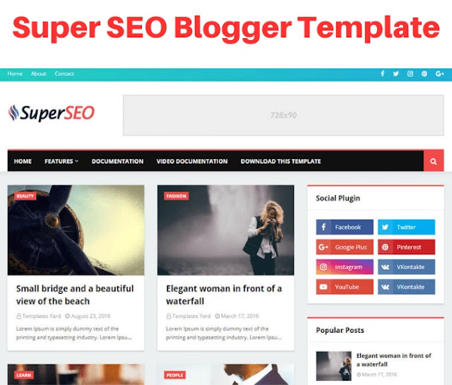 super seo blogger template, bootstrap blogger templates free download, bootstrap