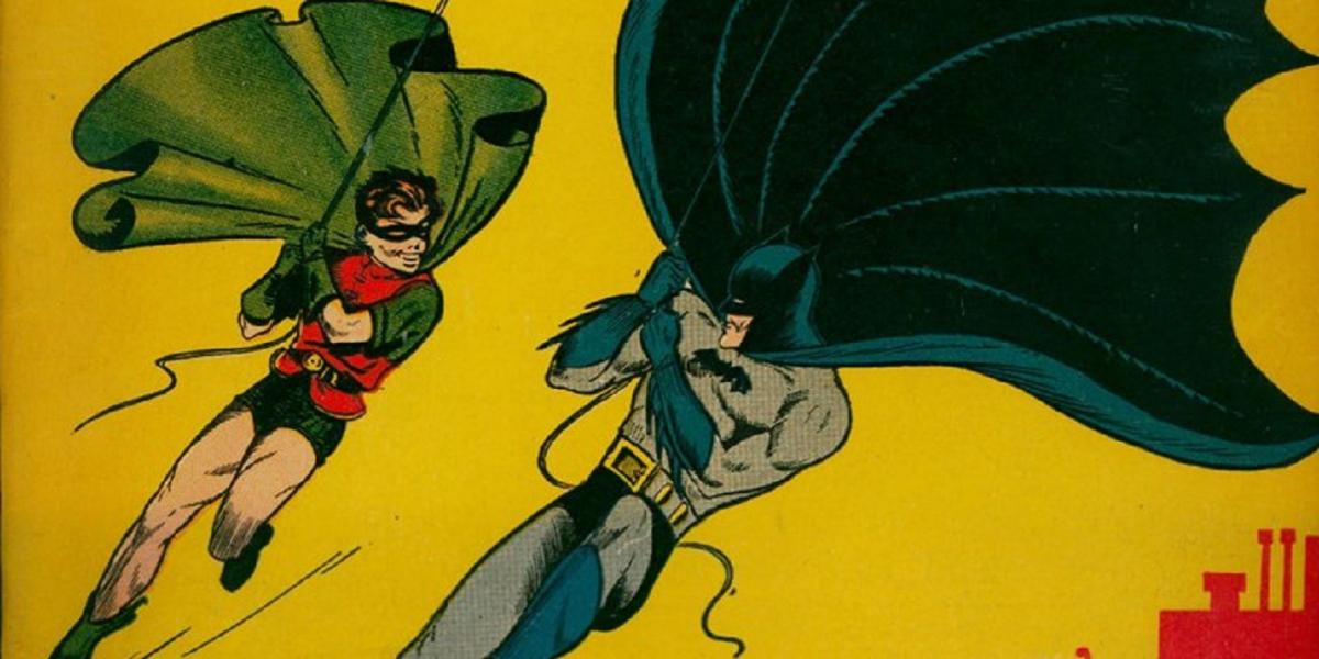"Holy waste! They sell the first Batman comic in ""good condition"" for more than a million dollars"