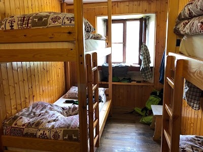 Four-person room at Laghi Gemelli.
