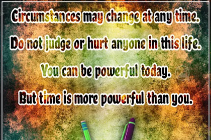 Do not judge or hurt | Usefull Quote For Life