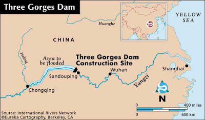 Three Gorges Dam hits record levels as flooding continues in China