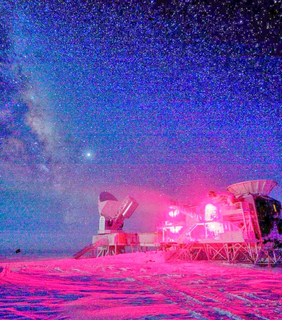 South Pole Telescope, Amundsen-Scott South Pole Station