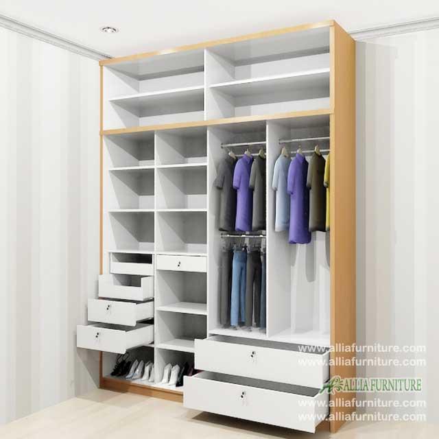 dalam lemari pakaian minimalis unit s4