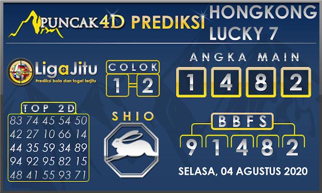 PREDIKSI TOGEL HONGKONG LUCKY7 PUNCAK4D 04 AGUSTUS 2020