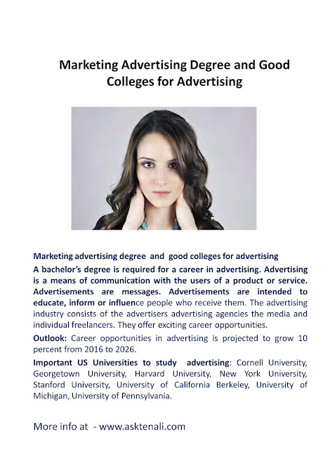 Marketing Advertising Degree and Good Colleges for Advertising online marketing degree, web marketing degree,marketing advertising degree, good colleges for advertising, online advertising certifications