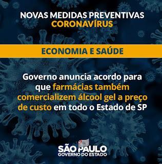 Governo de SP lança segunda fase da campanha em TVs para prevenção do coronavírus