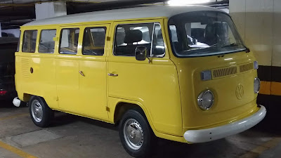 Yellow sunflower vw