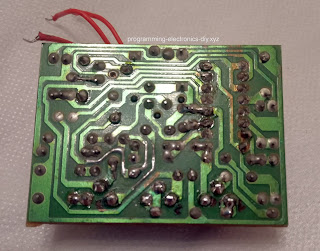 Outdoor PIR sensor board repair