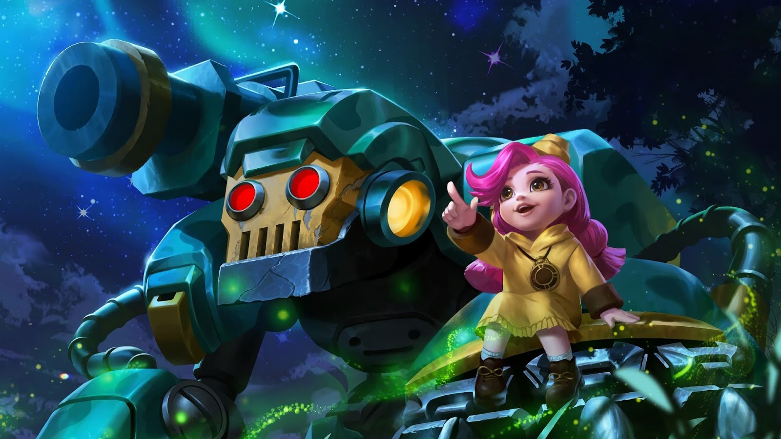 Wallpaper Jawhead Girl Scout Skin Mobile Legends HD for PC