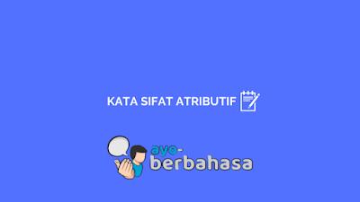 Kata sifat atributif