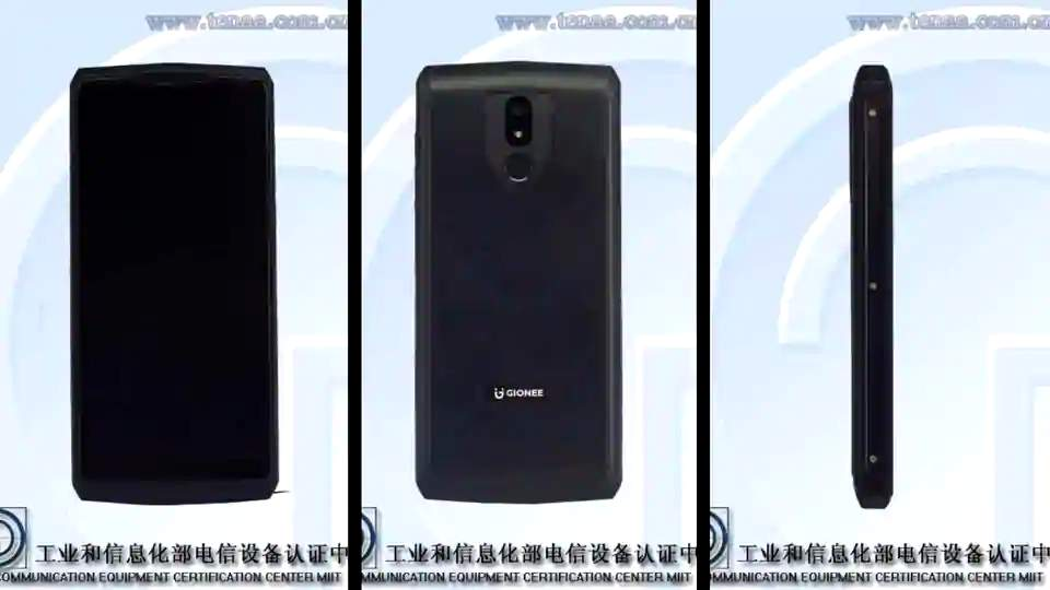 Smartphone Gionee Baterai 10000 mAh (gsmarena.com)