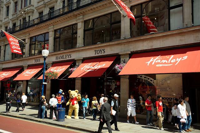 Loja de brinquedos Hamley's em Londres