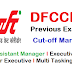 DFCCIL Exam cut-off marks