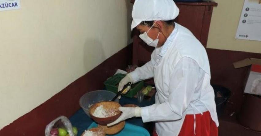 QALI WARMA: Municipios de Ayacucho equiparán cocinas en escuelas públicas - www.qaliwarma.gob.pe