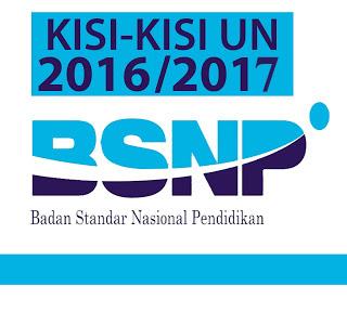 Kisi Kisi Ujian Nasional 2017 SMP / MTs / SMA / SMK