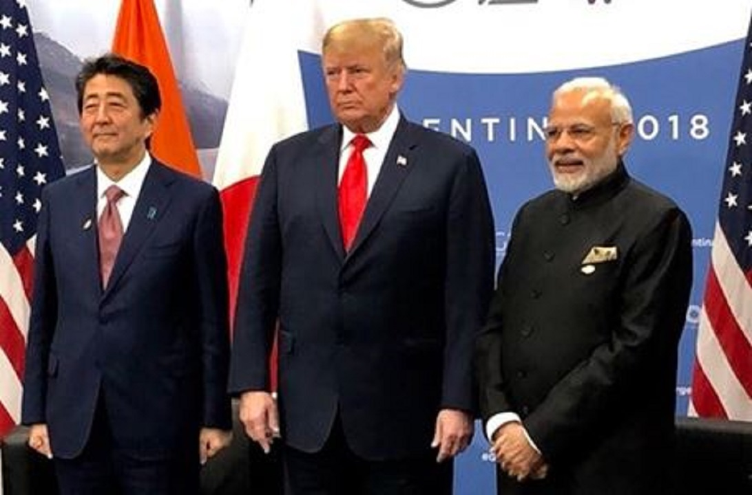 India is in contact with America and Japan regarding Myanmar