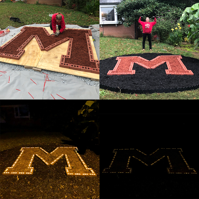 Making the Maryland M part 1