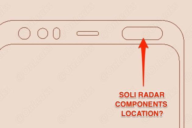 Google Pixel 4 design map top has a mysterious new sensor