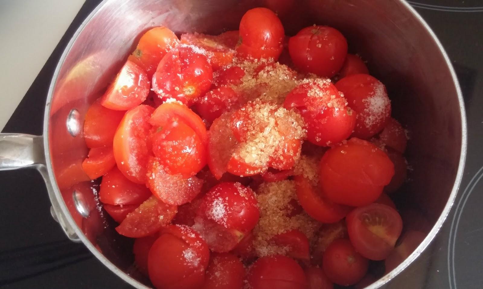 confiture tomate cerise