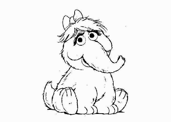 Sesame street Alice coloring pages | Free Coloring Pages and