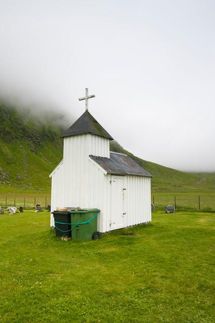 Chiesetta ad Unstad-Isola Lofoten