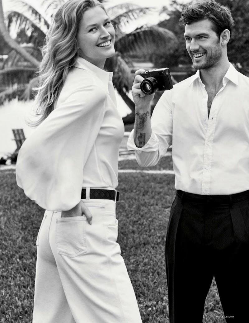 Toni Garrn Featured In Vogue Magazine -Germany June 2020