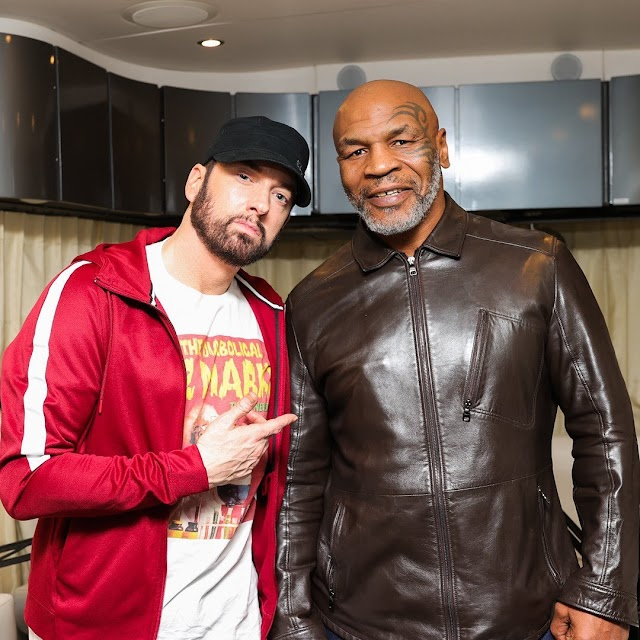 Eminem to show up on Mike Tyson's 'Hotboxin' digital recording later this evening