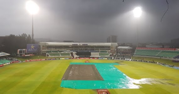 Kingsmead - Durban - Pitch - Covers - Raining