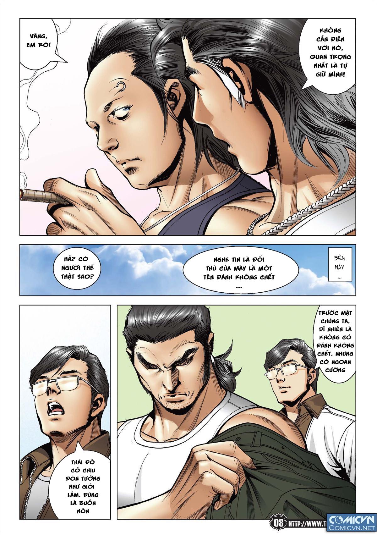 Người Trong Giang Hồ chapter 2148: tiểu mã vs gia đằng nhị trang 6