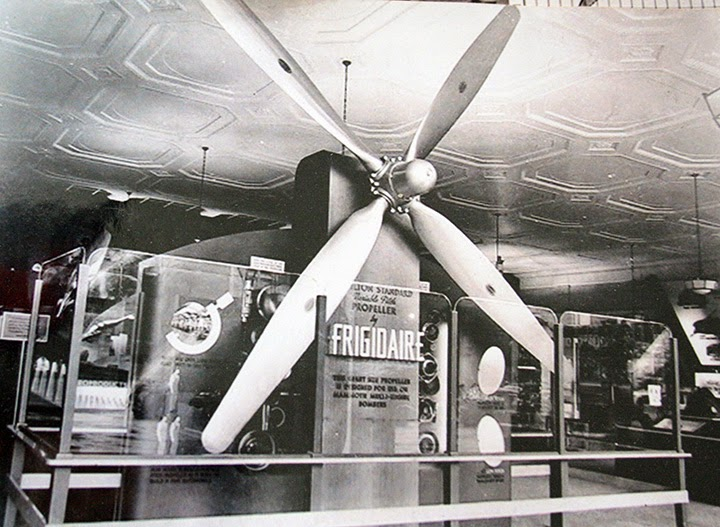 Climbing My Family Tree: Propeller made by Frigidaire during WWII in Moraine City plant