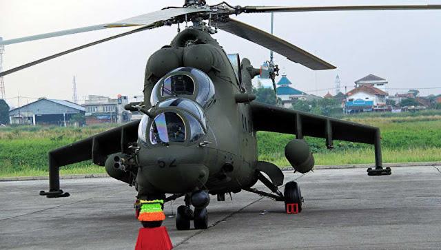 Dua Mi-35P Indonesia telah selesai diperbaiki