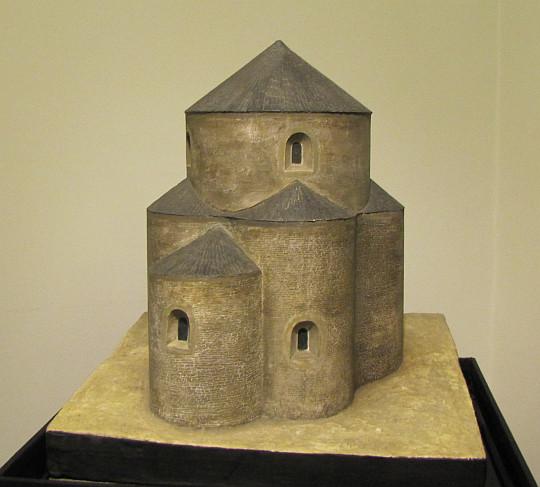 Rotunda Najświętszej Marii Panny (model rekonstrukcji).