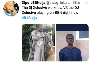 Nigerians tag Dj xclusive's performance in BBN party a flop with hilarious reactions