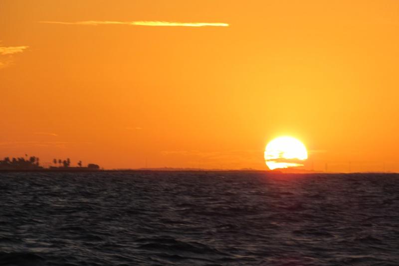 Passeio de Veleiro em Fortaleza pôr do sol