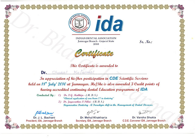 Clinical Application of DBCT in Dentistry By Dr. P.G. Makhija and Regereative Dentistry By Dr. Jayashankar Pillai