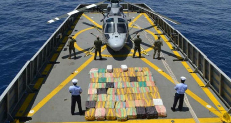 Confiscan más de dos toneladas de cocaína en Oaxaca