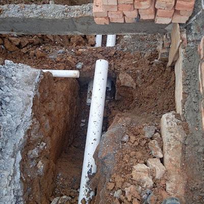 Pekerjaan plumbing, pembuangan air kotor