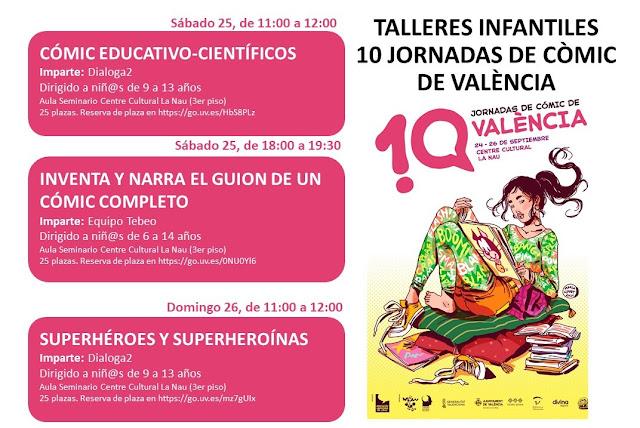 X Jornadas de Cómic de Valencia