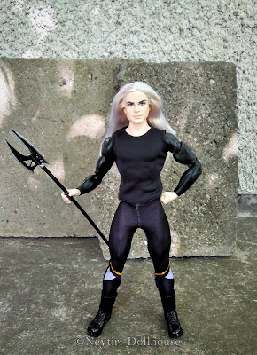 Mattel Ken doll Faraway Forest King of the Crystal Cave heroes