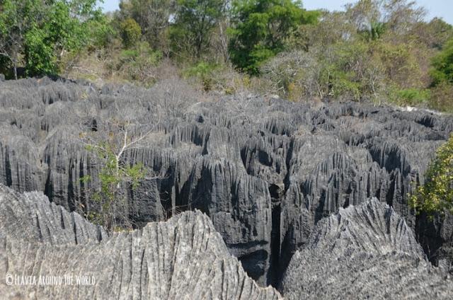 petit tsingy parque nacional tsingy de bemahara madagascar
