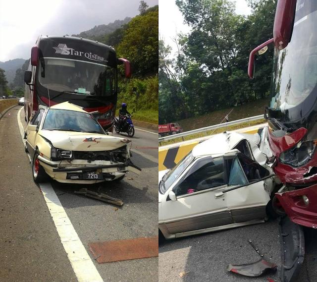 SPAD Siasat insiden Kemalangan Bas Menora. #SPAD