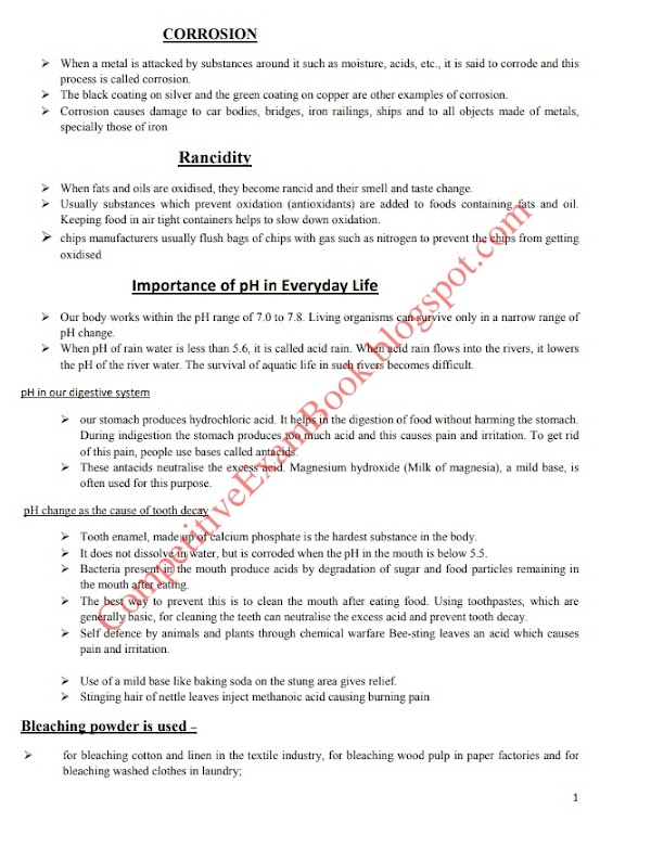 Science Notes for Competitive Exams (read and download) pdf