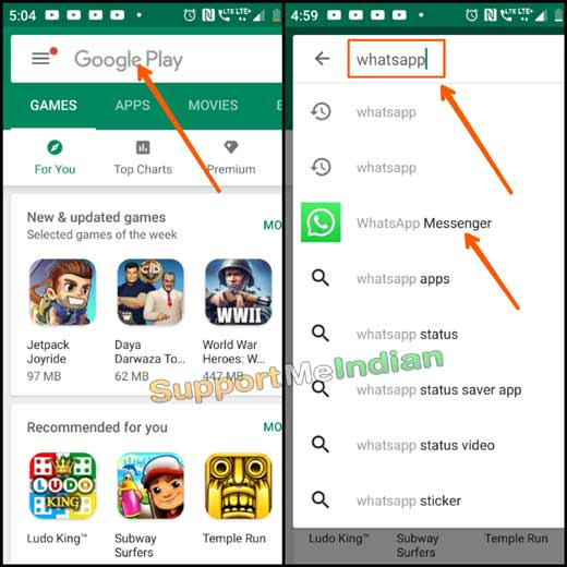 download whatsapp from play store