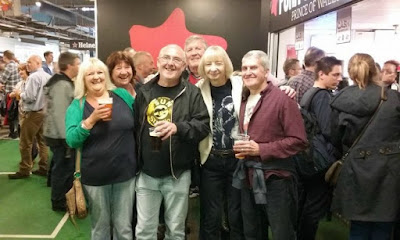 group-of-friends-at-Ricoh-Arena-Coventry-waiting-for-Bruce-Springsteen
