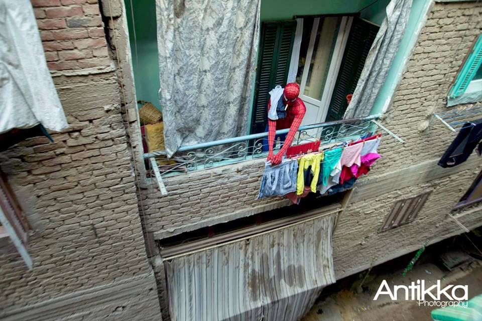 Real Live Spiderman