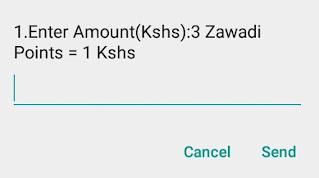 How to redeem Airtel Zawadi