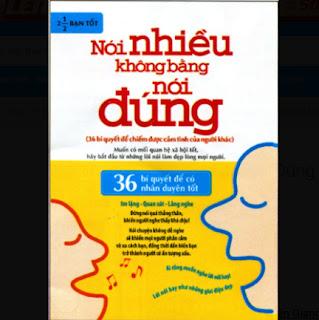 Nói Nhiều Không Bằng Nói Đúng ebook PDF EPUB AWZ3 PRC MOBI