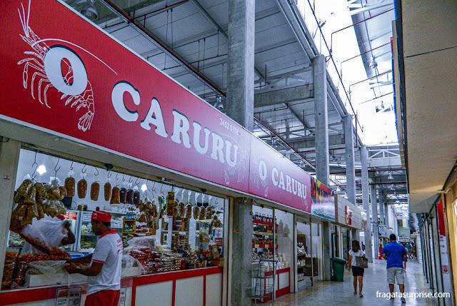 Venda de ingredientes para preparação de caruru, Ceasinha de Salvador