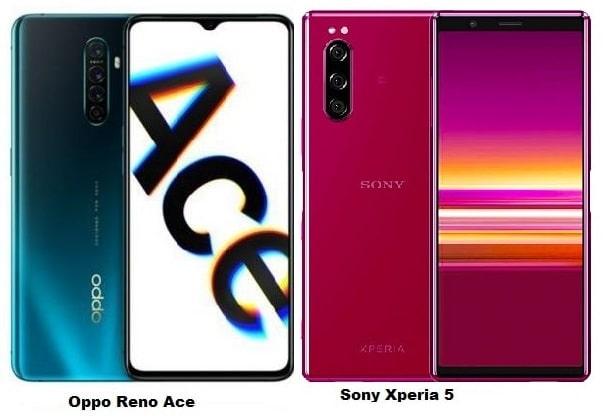 Oppo Reno Ace Vs Sony Xperia 5 Specs Comparison